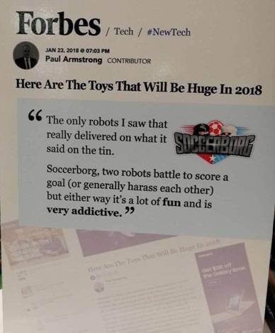 SIMI足球机器人-2018年新款Top玩具